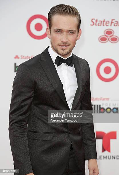 Mauricio Henao arrives at the 2014 Billboard Latin Music Awards at Bank United Center on April 24 2014 in Miami Florida