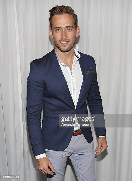 Mauricio Henao attends The Israel Ministry of Tourism Reception at Briza on the Bay on September 16 2014 in Miami Florida