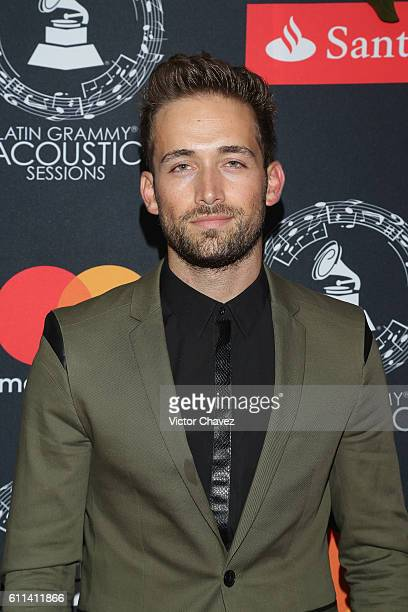 Mauricio Henao attends the Latin Grammy Acoustic Sessions Mexico City 2016 at Casa Del Lago Chapultepec on September 28 2016 in Mexico City
