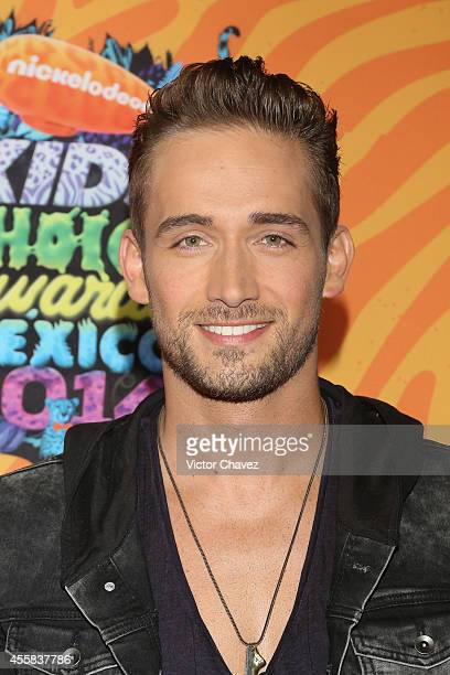 Mauricio Henao attends the Nickelodeon Kids' Choice Awards Mexico 2014 at Pepsi Center WTC on September 20 2014 in Mexico City Mexico