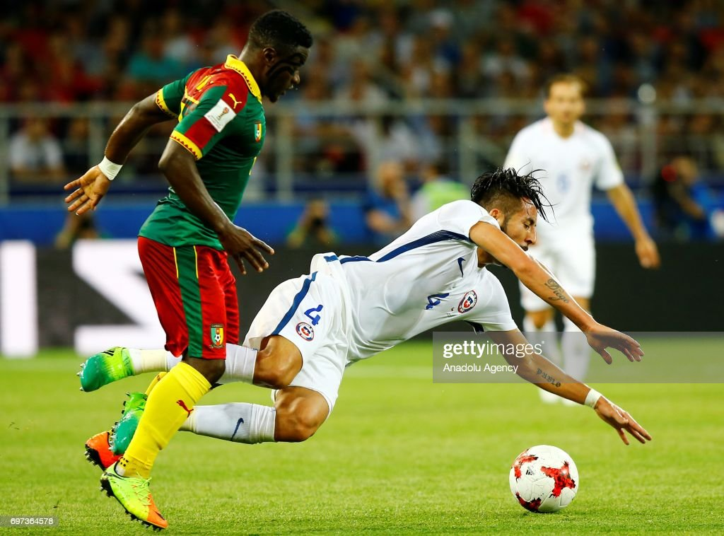Cameroon vs Chile - FIFA Confederations Cup 2017 : News Photo