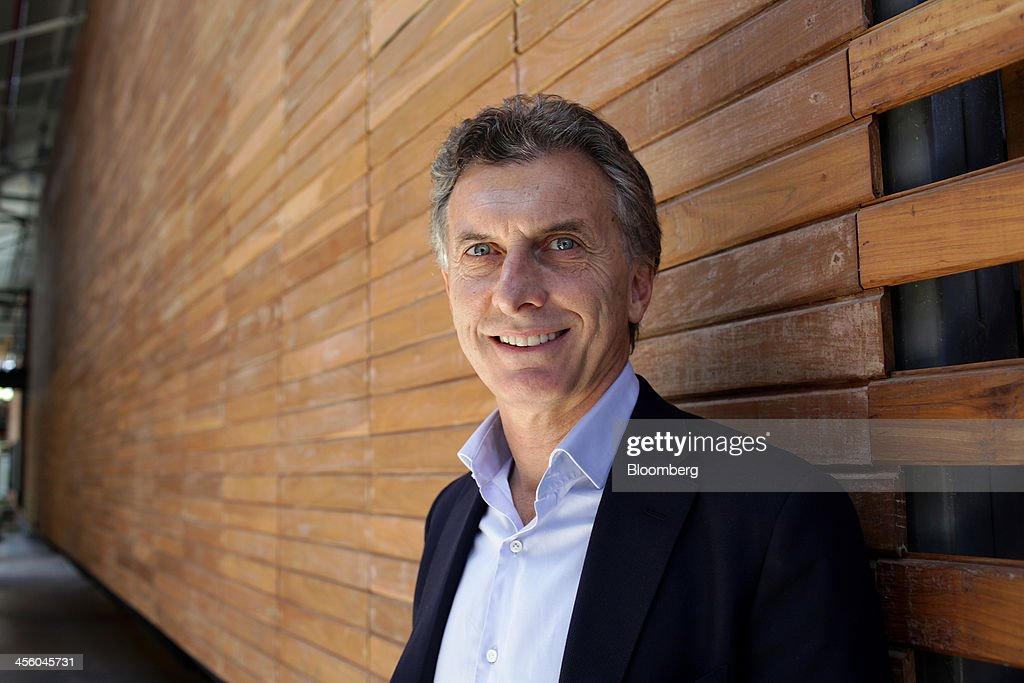<a gi-track='captionPersonalityLinkClicked' href=/galleries/search?phrase=Mauricio+Macri&family=editorial&specificpeople=773012 ng-click='$event.stopPropagation()'>Mauricio Macri</a>, mayor of Buenos Aires, stands for a photo at the Metropolitan Design Center in Buenos Aires, Argentina, on Wednesday, Dec. 11, 2013. Macri announced in October that he will run in Argentina's 2015 presidential elections. Photographer: Diego Levy/Bloomberg via Getty Images
