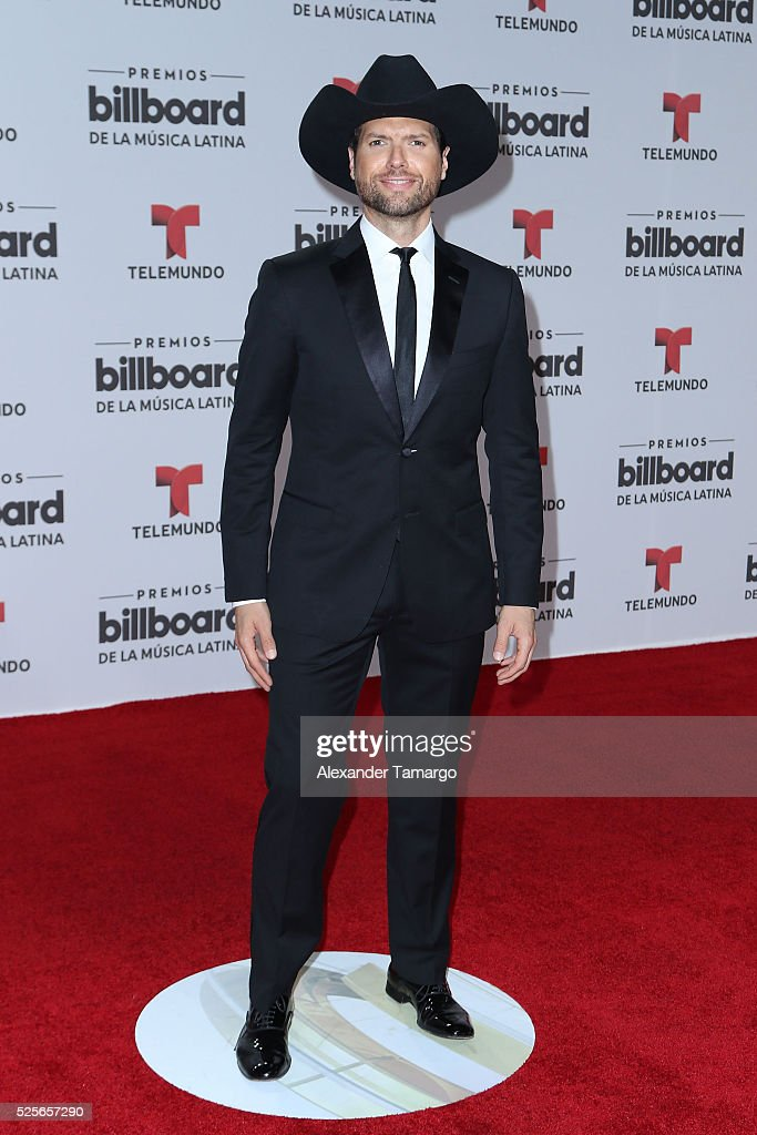 Mauricio Martinez attends the Billboard Latin Music Awards at Bank United Center on April 28, 2016 in Miami, Florida.