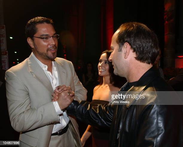 Mauricio Mendoza Julio Oscar Mechoso during 'Resurrection Blvd' Celebrates its 3rd Season Hosted by Hennessy Cognac with a $10000 Donation to AIDS...