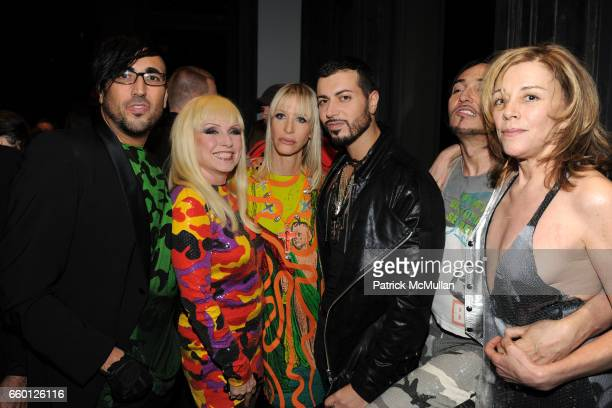 Mauricio Padilha Debbie Harry Teri Toye Roger Padilha Johnny Dynell and Paige Powell attend ROGER PADILHA MAURICIO PADILHA Celebrate Their Rizzoli...
