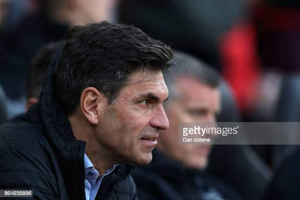 Mauricio Pellegrino Manager of Southampton during the Premier League match between Southampton and West Bromwich Albion at St Mary's Stadium on...