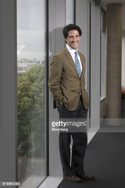 Mauricio Ramos chief executive officer of Millicom International Cellular SA poses for a photograph following an interview in London UK on Thursday...
