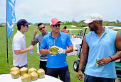 Mauricio Umansky and Laroyce Hawkins attend Celebrity Golf Tournament during Sandals Emerald Bay Celebrity Golf Weekend on June 4 2016 in Great Exuma...