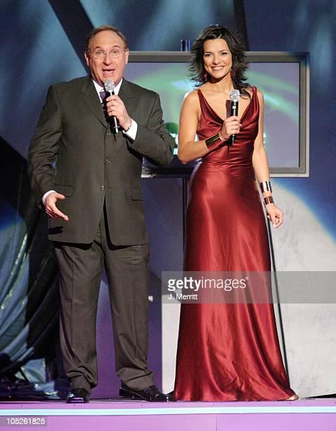Mauricio Zeilic and Candela Ferro during 5th Annual El Premio De La Gente Latin Music Fan Awards Show at Mandalay Bay Resort Casino in Las Vegas...