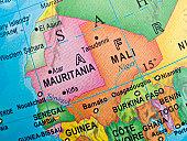 Mauritania-Mali Map