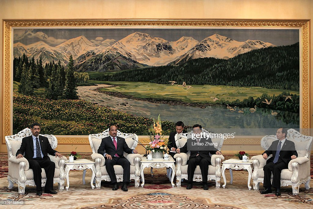 Mauritanian President Mohamed Ould Abdel Aziz Visits China