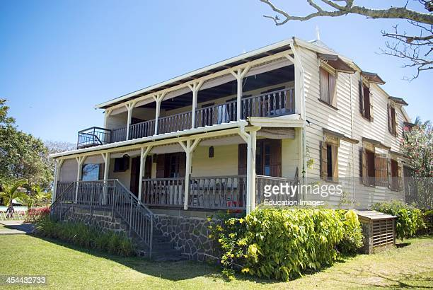 Beau vallon stock photos and pictures getty images for Jardin beau vallon maurice