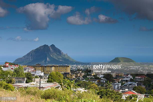 Mauritius, Central Mauritius, Curepipe, Coastal Mountains from Trou aux Cerfs crater