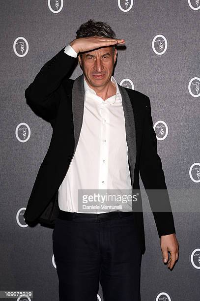 Maurizio Cattelan attends Fondazione Nicola Trussardi Cocktail Party during the 55th International Art Exhibition 2013 Venice Biennale on May 30 2013...