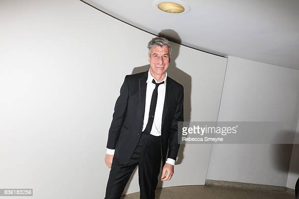 Maurizio Cattelan attends the Guggenheim International Gala at the Solomon R Guggenheim Museum on November 17 2016 in New York City