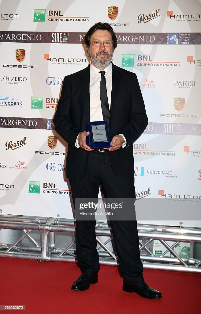 Maurizio Sabatini attends Nastri D'Argento 2016 Award Nominations at Maxxi on May 31, 2016 in Rome, Italy.