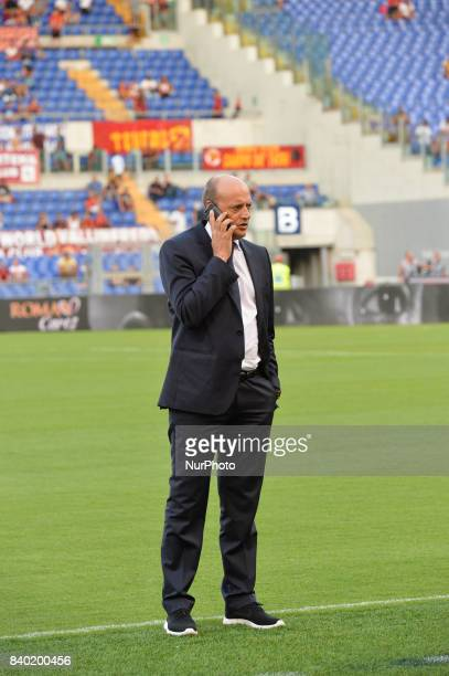 Mauro Baldissoni during the Italian Serie A football match between AS Roma and FC Inter at the Olympic Stadium in Rome on august 26 2017