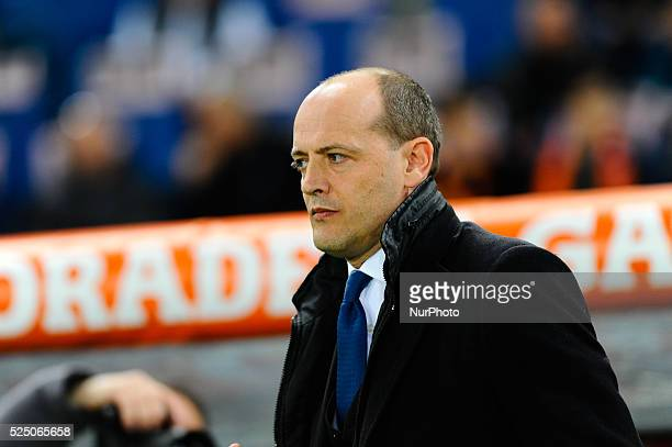 Mauro Baldissoni during the Serie A match between AS Roma and Juventus FC at Olympic Stadium Italy on March 02 2015
