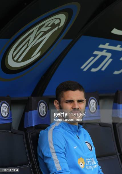 Mauro Emanuel Icardi of FC Internazionale looks on during the FC Internazionale training session at the club's training ground Suning Training Center...