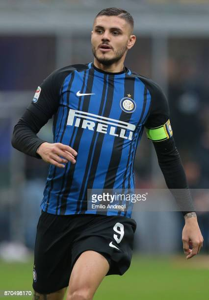 Mauro Emanuel Icardi of FC Internazionale Milano looks on during the Serie A match between FC Internazionale and Torino FC at Stadio Giuseppe Meazza...