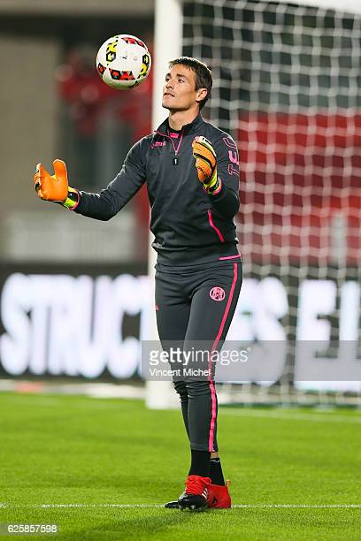 Mauro Goigoechea of Toulouse during the French Ligue 1 match between Rennes and Toulouse at Roazhon Park on November 25 2016 in Rennes France