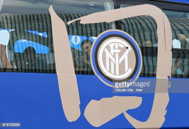 Mauro Icardi of FC Internazionale attends a FC Interazionale training session at Suning training center on July 19 2017 in Nanjing China