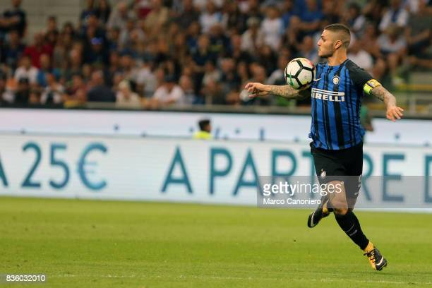 Mauro Icardi of FC Internazionale in action during the Serie A match between FC Internazionale and ACF Fiorentina Internazionale Fc wins 30 over ACF...