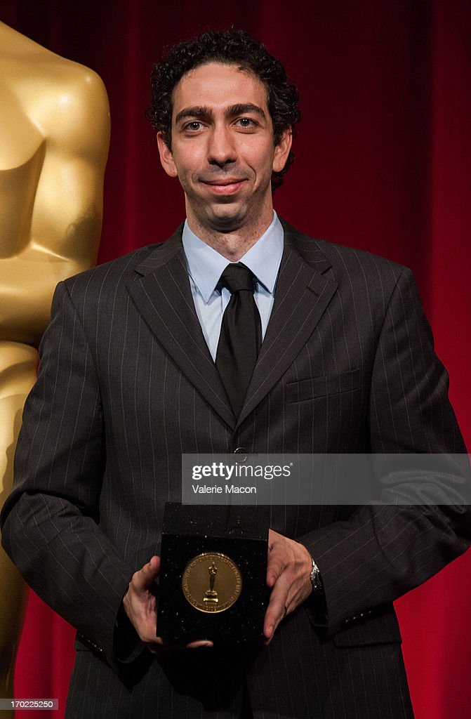 Mauro Mueller attends The Academy Of Motion Picture Arts And Sciences' 40th Annual Student Academy Awards Ceremony at AMPAS Samuel Goldwyn Theater on June 8, 2013 in Beverly Hills, California.