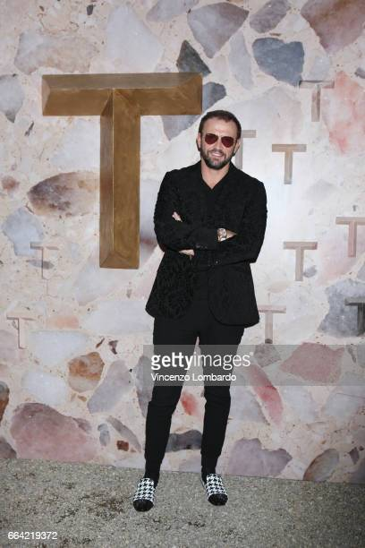Mauro Porcini attends 'T Magazine The New York Times' Celebration of Milan Design Week on April 3 2017 in Milan Italy
