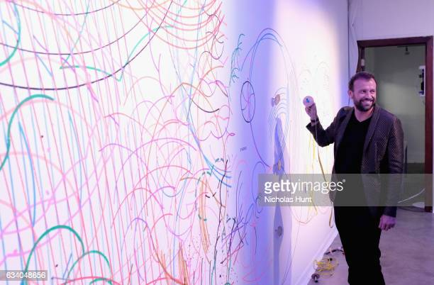 Mauro Porcini SVP Chief Design Officer at PepsiCo attends Vogue Celebrates The Launch of LIFEWTR at Super Bowl LI on February 3 2017 in Houston Texas