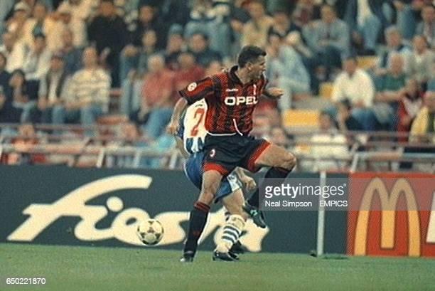 Mauro Tassotti AC Milan Action Ford