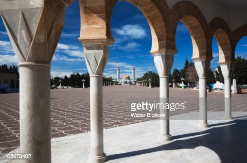 Mausoleum of Habib Bourguiba : Stock Photo