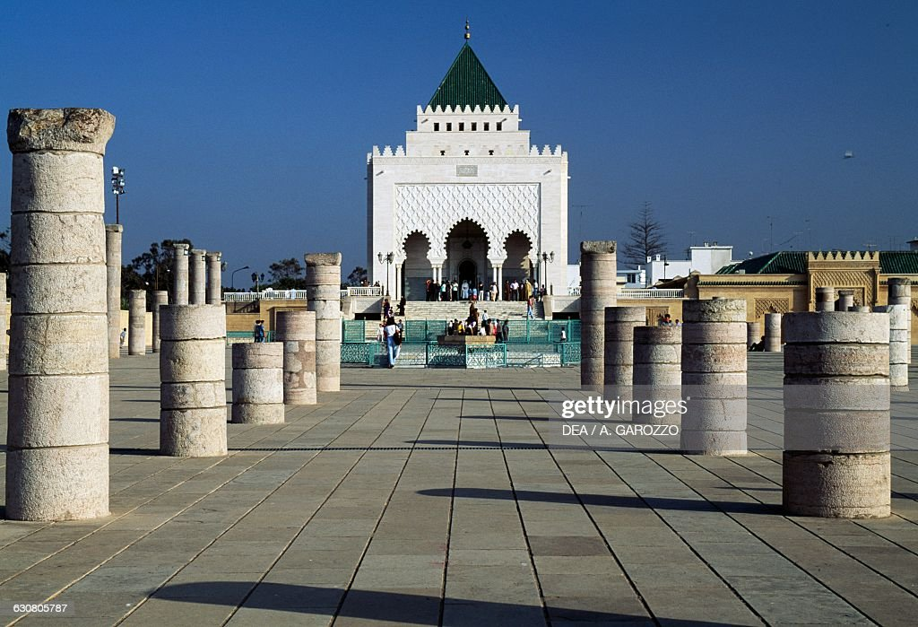 Mausoleum Of Mohammed V Which Also Houses The Remains Of His Sons Pictures Getty Images