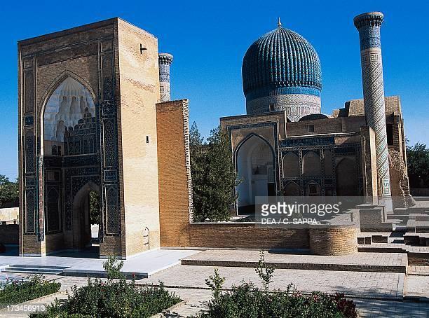 Mausoleum of Tamerlane or Gure Amir Samarkand Samarkand Uzbekistan