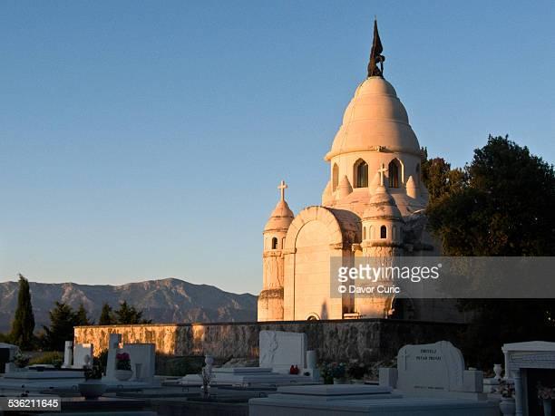 A mausoleum