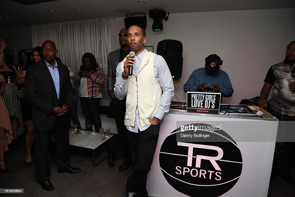 Maverick Carter attends LeBron James, Believe Entertainment Group And Spring Hill Prods. Host All-Star Celebration To Kick Off Season Two Of 'The LeBrons' at Hudson Lounge on February 15, 2013 in Houston, Texas.