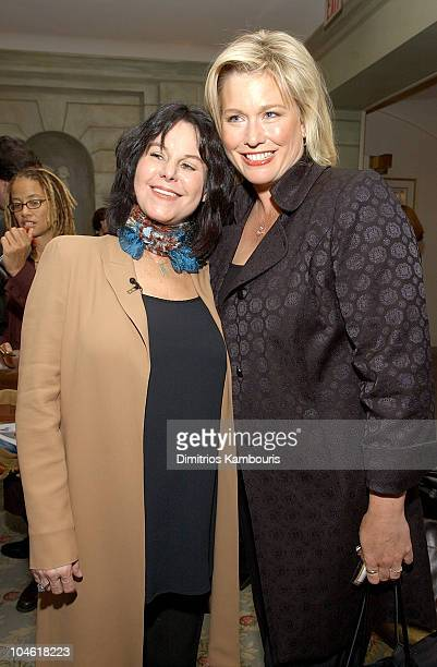 Mavis Leno and Emme during Dove Presents the Woman's Day Second Annual 'Women Who Inspire Us' Luncheon at The Pierre Hotel in New York City New York...