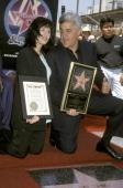 Mavis Leno and Jay Leno during Jay Leno Recieves 2156th Star on the Hollywood Walk of Fame at Hollywood Boulevard in Hollywood California United...