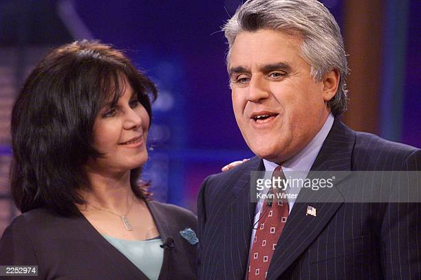 Mavis Leno on 'The Tonight Show with Jay Leno' at the NBC Studios in Los Angeles Ca October 3 2001 Photo by Kevin Winter/Getty Images