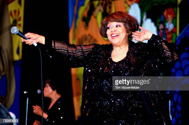 Mavis Staples and the Staples Singers perform as part of New Orleans by the Bay 1997 at Shoreline Amphitheatre on June 22 1997 in Mountain View...