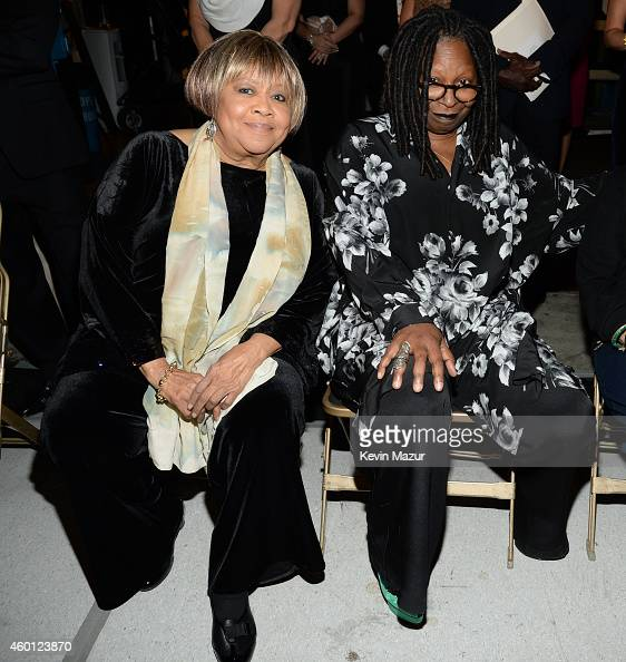 Mavis Staples and Whoopi Goldberg attend the 37th Annual Kennedy Center Honors at The John F Kennedy Center for Performing Arts on December 7 2014 in...