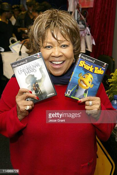Mavis Staples at Activision during The Bratz British Invasion Gift Lounge at the 44th Annual GRAMMY Awards Day Two at Staples Center in Los Angeles...