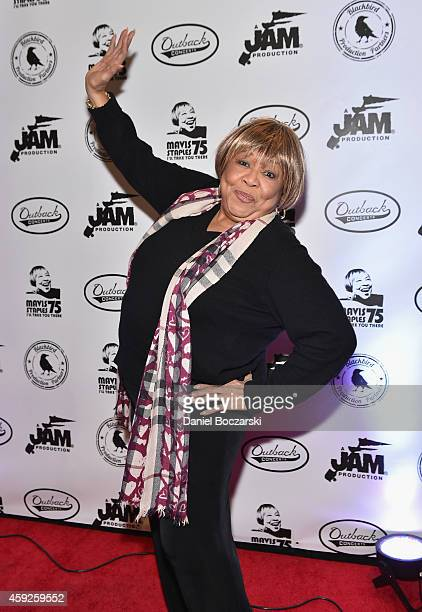 Mavis Staples attends I'll Take You There Celebrating 75 Years Of Mavis Staples at Auditorium Theatre on November 19 2014 in Chicago Illinois