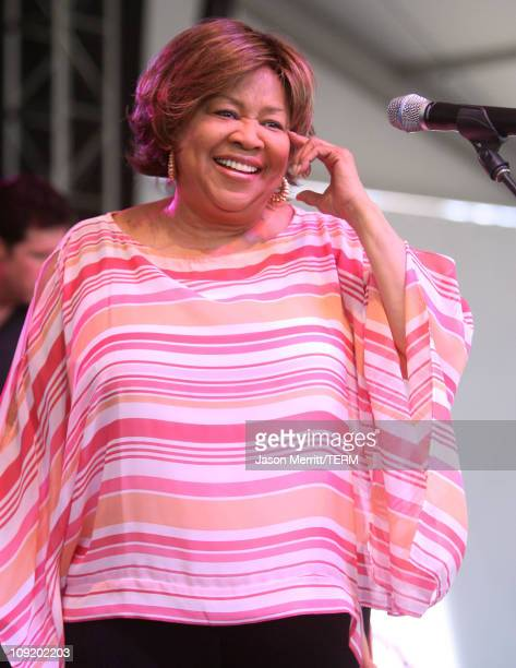 Mavis Staples during Bonnaroo 2007 Day 3 Mavis Staples at The Other Tent in Manchester Tennessee United States