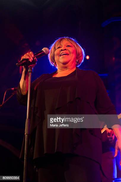 Mavis Staples performs at the Union Chapel on July 6 2017 in London England