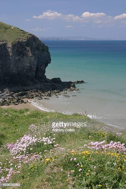 Mawgan Porth Beach, North Cornwall