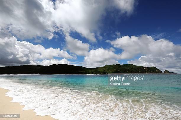 Mawul beach of south Lombok