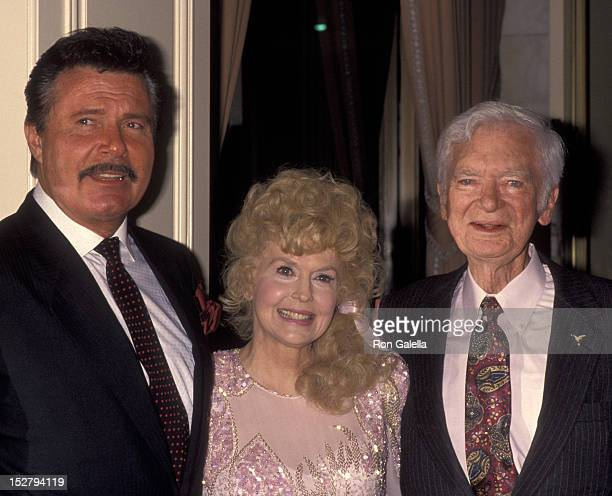 Max Baer Jr Donna Douglas and Buddy Ebsen attend the party for Buddy Ebsen on March 20 1992 at the Beverly Wilshire Hotel in Beverly Hills California