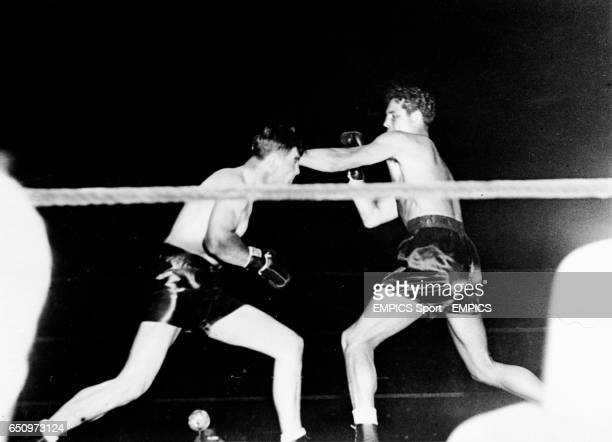 Max Baer takes on challenger James Braddock at Madison Square Garden New York