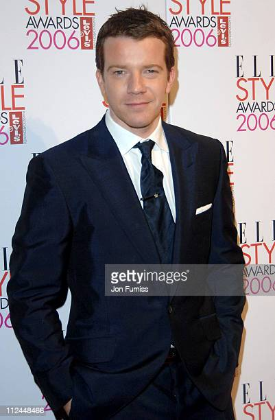 Max Beasley during Elle Style Awards 2006 Inside Arrivals at Old Truman Brewery in London Great Britain